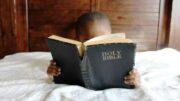 reading my bible