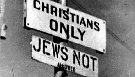 Christian' Antisemitism Raises Its Head