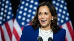 Kamala Harris Returns Home, 2 People Welcome Her