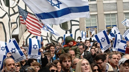 Jews Stand Together in Chicago