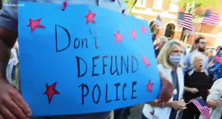 don't defund the police