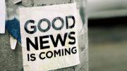 Good news somewhere