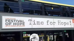 """Adverts written """"Time for Hope"""""""