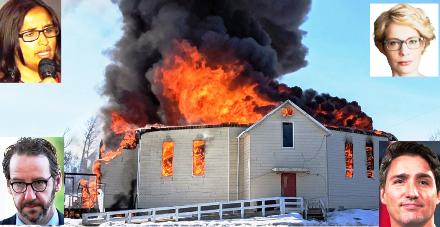 Canada church burnings