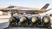 Israel air force aero-plane