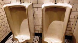 urinals of boy's bathroom