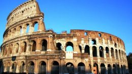 This image is showing fallen Roman empire