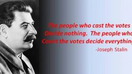 Stalin famous quote in that image